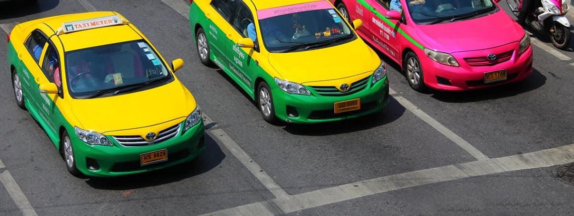 Taxis no oficiales Tailandia